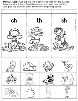Consonant Digraphs - Initial and Final