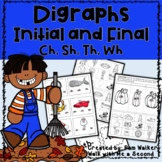 Consonant Diagraphs - Initial and Final