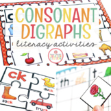 Consonant Digraph Activities Bundle