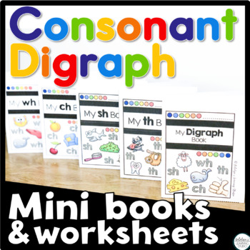 Consonant Digraph Activity and Worksheets