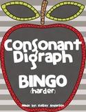 FREEBIE Consonant Digraph BINGO (harder)