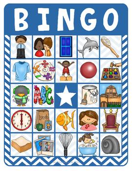 Consonant Digraph Bingo