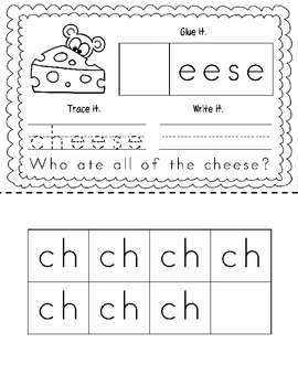 "Consonant Digraph ""CH"" Book"