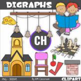 Consonant Digraph CH Clip Art