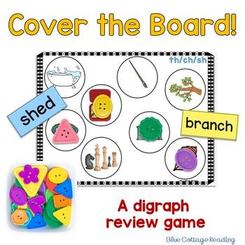 Consonant Digraph Cover the Board