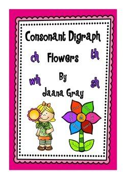 Consonant Digraph Flower Game