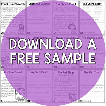 Consonant Digraph Fluency Passages