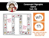 Consonant Digraph Game for th, wh
