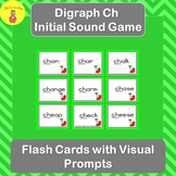 Consonant Digraph Initial Sound Ch Game and Flash Cards