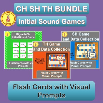 Consonant Digraph Initial Sound Ch Sh Th Games and Flash C