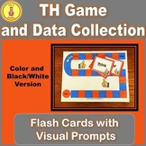 Consonant Digraph Initial Sound Th Game and Flash Cards