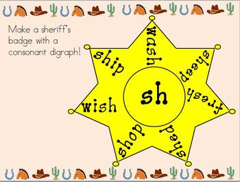 Consonant Digraph Lesson/Practice/Anchor Chart
