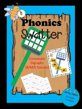 Consonant Digraph Phoics Swatter