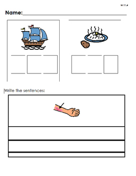 Consonant Digraph Phonics Practice Pages