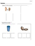 Consonant Digraph Phonics Practice Pages