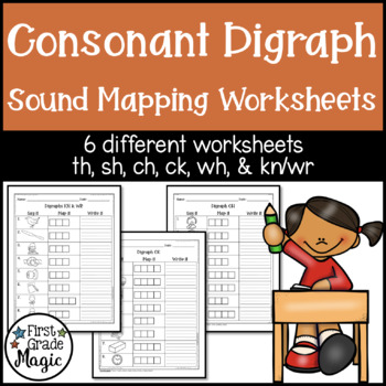Consonant Digraph Phonics Worksheets