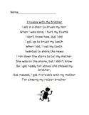 Consonant Digraph Poem
