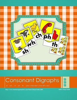 Consonant Digraph Posters