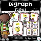 Consonant Digraph Posters {Zebra Theme}