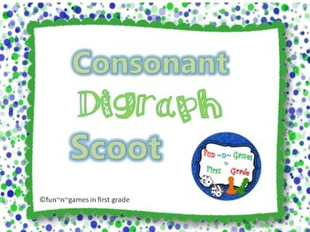 Consonant Digraph Scoot