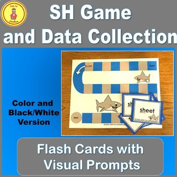 Consonant Digraph Initial Sound Sh Game and Flash Cards