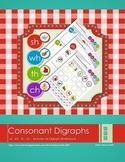 Consonant Digraph Sorting Sheets       (ch, sh, wh, th)