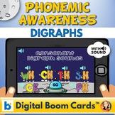 Consonant Digraph Sounds Digital Boom Task Cards