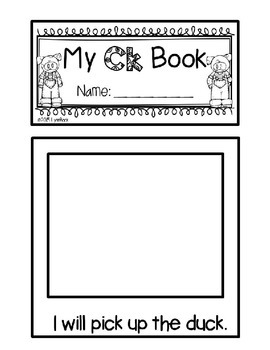 Consonant Digraph Staggered Flip Book