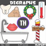 Consonant Digraph TH Clip Art