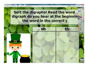 'Sh' and 'Th' Consonant Digraph Word Sort