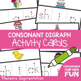 Consonant Digraphs Activity Cards - sh th ch