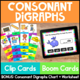 Phonics Centers and Activities: Consonant Digraphs {SH CH PH TH WH} Clip Cards
