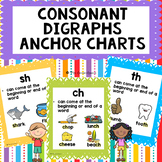 Consonant Digraphs Anchor Charts