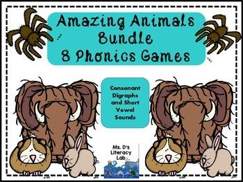 Consonant Digraphs (Animals)