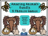 Amazing Animals Games {wh,th,sh,ch,ck}