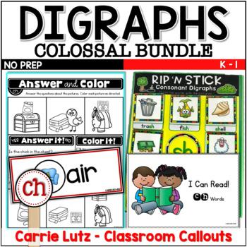 Consonant Digraphs Bundle
