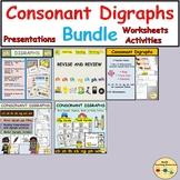 Consonant Digraphs Bundle Worksheets Activities Lesson Plan Presentations