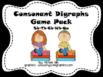Consonant Digraphs Game Pack