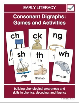 Consonant Digraphs: Games and Activities