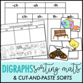 Digraphs Sort | Digraphs Cut and Paste | Digraphs Sorting Mats