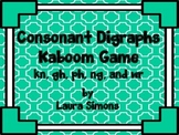 Consonant Digraphs Kaboom Game 1