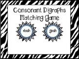 Consonant Digraphs Matching Game