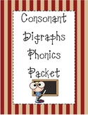 Consonant Digraphs Phonics Packet