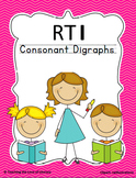 Consonant Digraphs Response to Intervention Kit