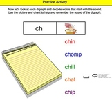 Consonant Digraphs SMARTBOARD (sh, th, wh, ch, ph) Activity
