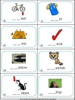 Consonant Digraphs Scoot