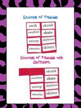 Consonant Digraphs Sorting Words Pack