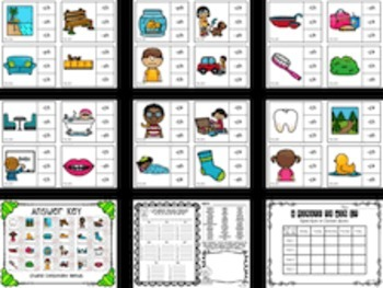 Consonant Digraph Task Cards