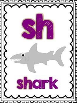 Consonant Digraphs Word Work Activities