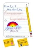 Consonant Digraphs Work Booklet